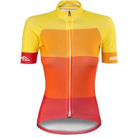 Red Cycling Products Colorblock Race Koszulka kolarska, krótki rękaw Kobiety żółty/czerwony